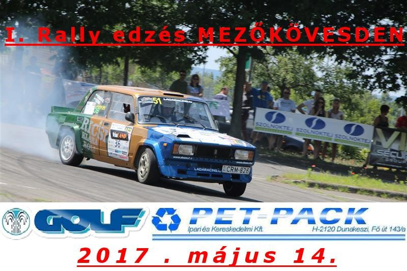 I. Rally Edzés Mezőkövesden